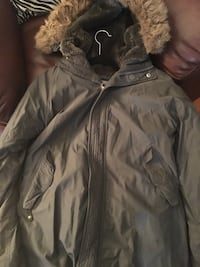 gray and brown parka Brampton, L6X 0E5