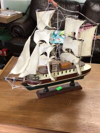 11' long and 1ft tall tall sail boat 2175 mi