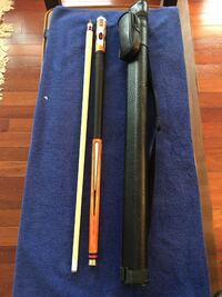 Pool Cue & Hard Case Vienna