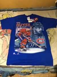Vintage 1996/1997 Deadstock Mark Recchi Pro Player T shirt St Catharines
