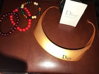***Authentic Dior golf sunglasses w/ visor and hard case. Two small sun blemishes. Laurel, 20707