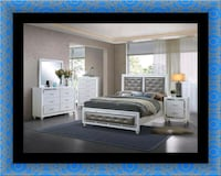 11pc Mackenzie bedroom set with mattress  Mount Rainier, 20712