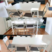IKEA Dinning Table And Chairs Gothenburg, 417 45