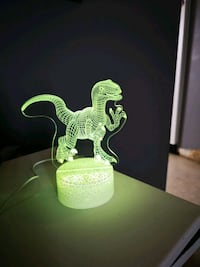 3d led dino nightlight  Grande Prairie, T8V 3N9