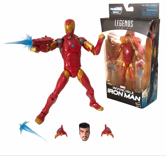 Marvel Legends Iron Man figür 4c7ffd38-0719-4f2f-aecf-c37be0189aa3