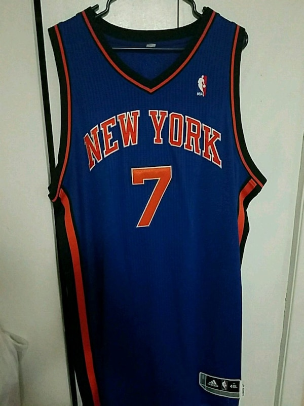 huge selection of 366ff b06ee Authentic carmelo anthony new york knicks jersey