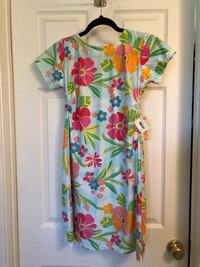 NWT! Spunkwear Patterned Tee Dress
