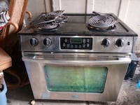 Whirlpool built in oven stove