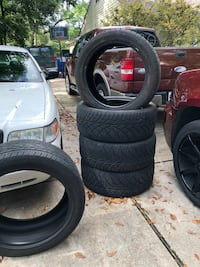 22 INCH NITTO TIRES