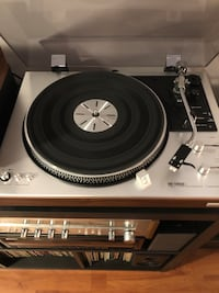 Hitachi PS-58 Vintage Turntable