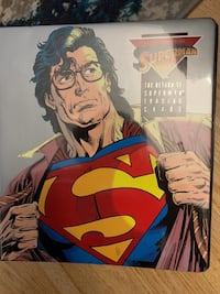 Death to Superman Trading Cards