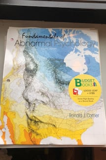 Fundamentals of abnormal psych eight edition