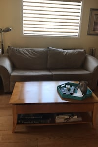 Queen sleeper sofa matching love seat and ottoman
