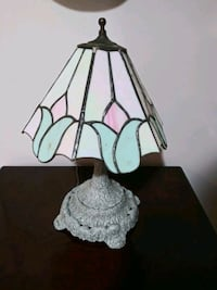 "Vintage stained glass lamp 22"" Gaithersburg, 20886"