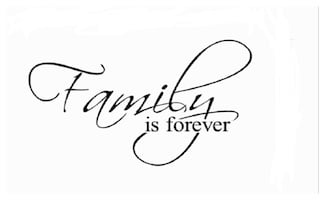 Brand New - Family is Forever Wall Decal