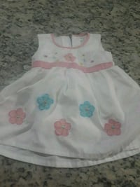toddler's white and pink floral sleeveless dress Orlando, 32824
