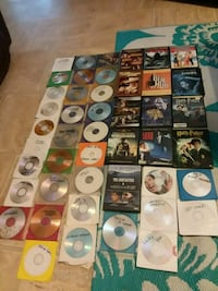 45 DVDS FOR 50CENT EACH Houma, 70364