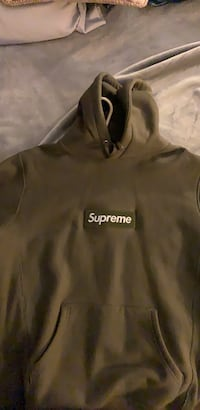 supreme box logo olive green Vaughan, L6A 2T1