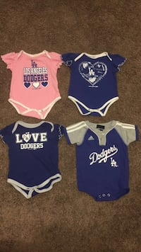 Girl Dodgers Onesies Size 6-9 Months  Covina, 91724