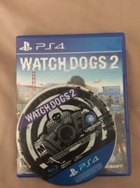 Sony PS4 Watch Dogs 2 disc with case HOUSTON