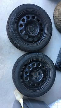 Winter rims with tire only 2 tires with rims  Milton, L9T