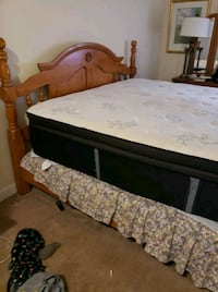 Bed and mattress King size