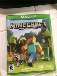 Minecraft Xbox One game case Bakersfield, 93306