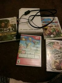 Wii and 4 game  Tully, 13159