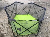 green and black camping chair Houston, 77017