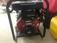 black and red Honda generator Great Falls, 59404