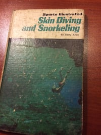 1973 Sports Illustrated Skin Diving and Snorkeling Book - Skills & Equipment Wilmington