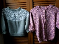 two gray and pink knit shirts Ariss, N0B 1B0
