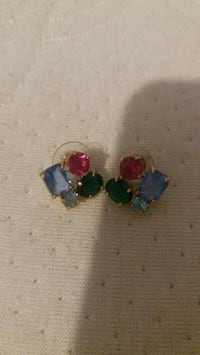 Kate spade four color stone earings West Springfield, 22152