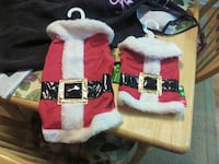 Dog Santa suit - size small Silver Spring, 20906