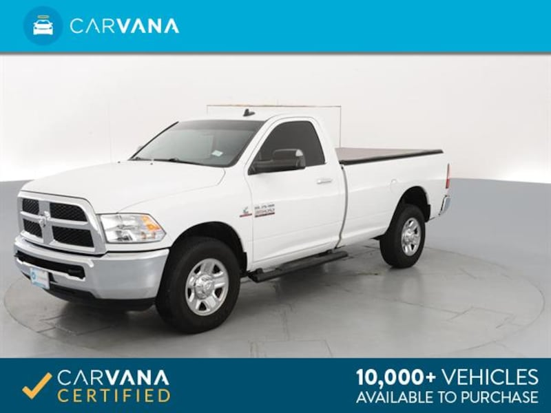 2015 Ram 3500 Regular Cab pickup SLT Pickup 2D 8 ft White  7