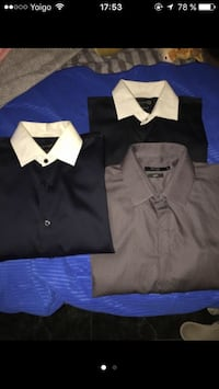 Tres negro y gris collared shirts screenshot Ciempozuelos, 28350