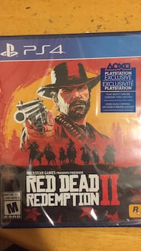 Red dead redemption 2 ps4 unopened St Thomas, N5R 1V7