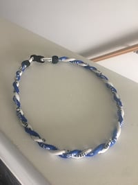 BLUE AND WHITE BASEBALL PHITEN NECKLACES Waterloo, N2L 3T8