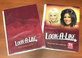 "New Picture Books, rare ""Look-A-Like"" theme by TV Guide"
