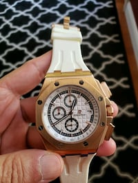 AP Audemars Piguet Royal Oak OffShore Rose gold watch