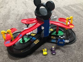 Mickey Mouse Race car toy