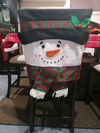 Set of 6 snowmen chair covers Queens, 11365
