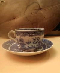Vintage Blue Willow Cup & Saucer  Liberty, 64068