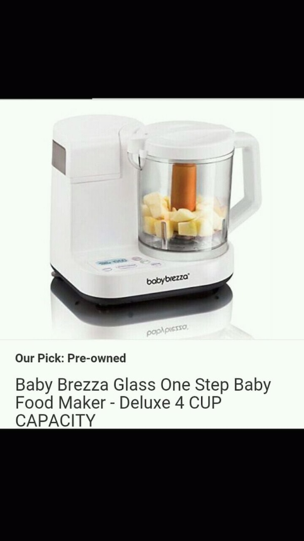 Baby brezza food maker