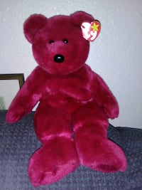 red bear Ty Beanie Baby Coos Bay, 97420