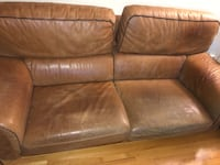 Couch genuine leather Mont-Royal, H3R 3C4