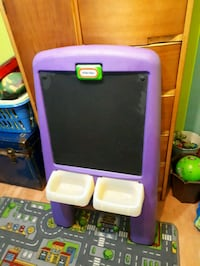 purple and white plastic toy organizer Charlemagne, J5Z 3E1