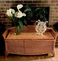 brown wicker basket with text overlay 836 mi