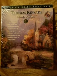Thomas Kincaid CdRom Screen Saver w/40 Thomas Kincaid pictures.  New!!