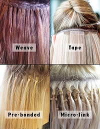 Hair extension installation only $100! Any method. Sherwood Park
